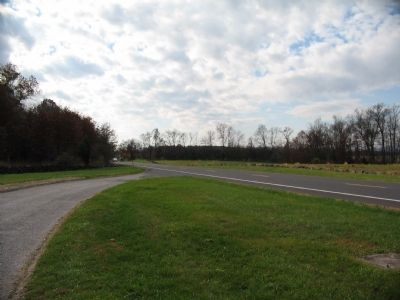 Rifled Section Defends Emmitsburg Road image. Click for full size.