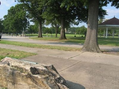 Chimborazo Park facing north. image. Click for full size.
