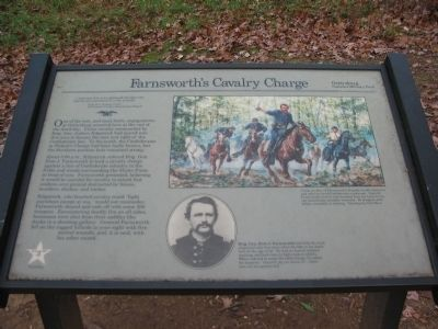 Farnsworth's Cavalry Charge Marker image. Click for full size.