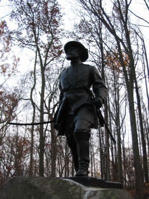 William Wells Statue image. Click for full size.