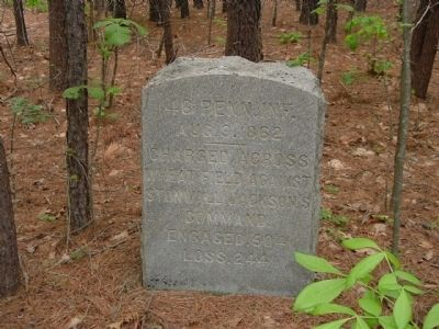 46th Pennsylvania Infantry Marker image. Click for full size.