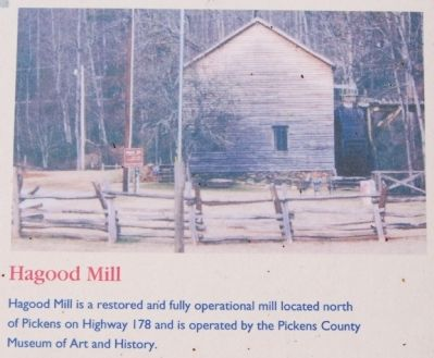 Golden Creek Mill - Hagood Mill image. Click for full size.