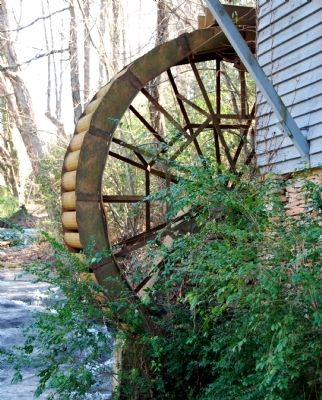 Golden Creek Mill - Water Wheel image. Click for full size.