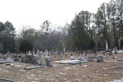 Jones Creek Baptist Church Cemetery image. Click for full size.