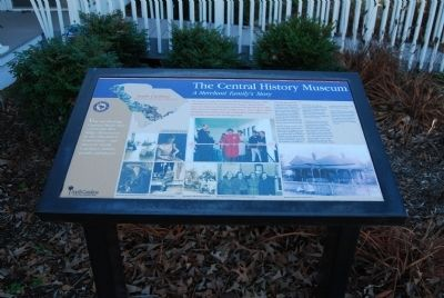 The Central History Museum Marker image. Click for full size.