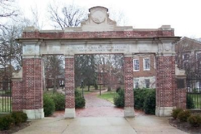 Ohio University 1915 Alumni Gateway image. Click for full size.
