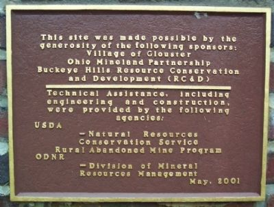Hisylvania Coal Company Mine No. 22 Sponsorship Marker image. Click for full size.