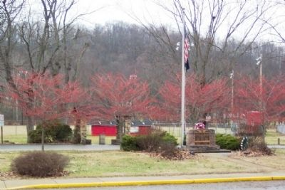 Trimble Township War Memorial image. Click for full size.