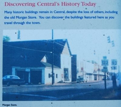 The Central History Museum Marker - Discovering Central image. Click for full size.