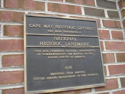 Cape May Historic District image. Click for full size.