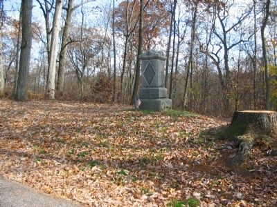 2nd Regiment Delaware Infantry Monument image. Click for full size.