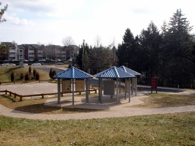Three Interpretive Kiosks at Ox Hill Battlefield Park image. Click for full size.