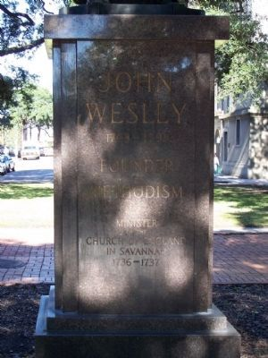 John Wesley Marker, South face image. Click for full size.
