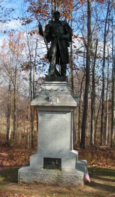 53rd Pennsylvania Infantry Monument image. Click for full size.