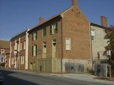 Stonewall Jackson House image. Click for full size.