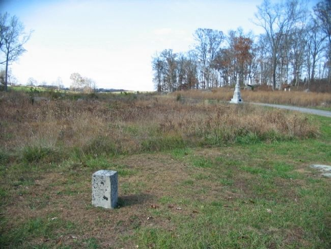 110th Pennsylvania Infantry Position from the Left Flank image. Click for full size.