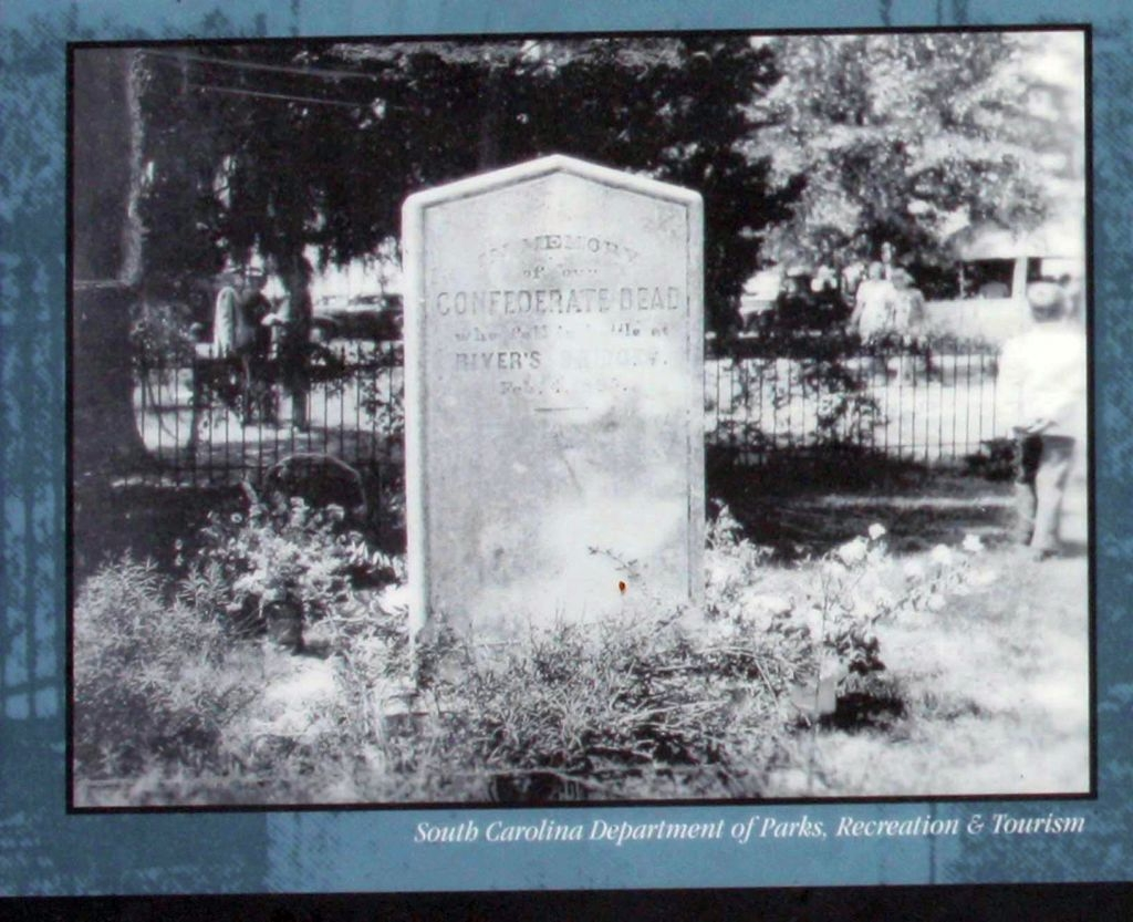 Our Confederate Dead Photo of Mass Grave Marker