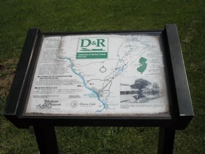 Delaware & Raritan Canal State Park Marker image. Click for full size.