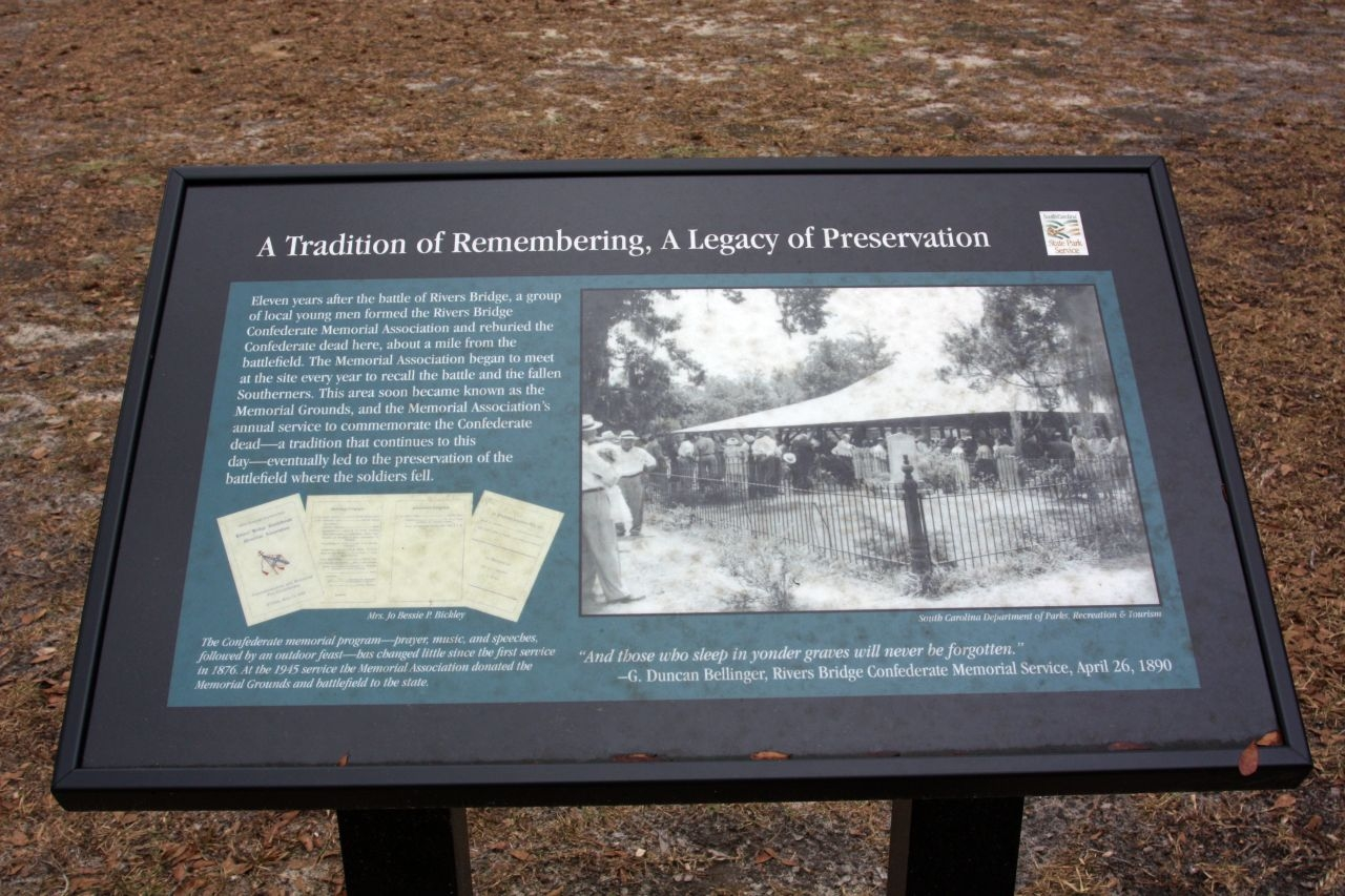 A Tradition of Remembering, A Legacy of Preservation Marker