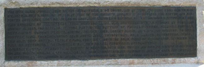 Plaque at Lower Left image. Click for full size.