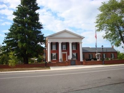 The Buckingham County Court House image. Click for full size.