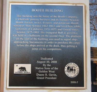 Booth Building Marker image. Click for full size.