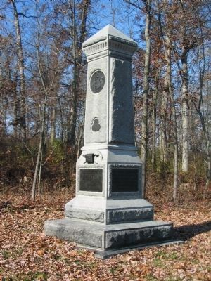 57th New York Infantry Monument image. Click for full size.