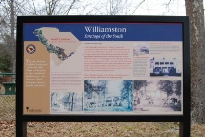 Williamston Marker image. Click for full size.