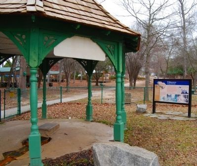 Williamston Marker and Gazebo image. Click for full size.
