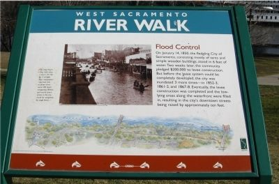 Flood Control Marker image. Click for full size.