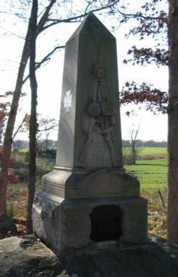 First Michigan Infantry Monument image. Click for full size.