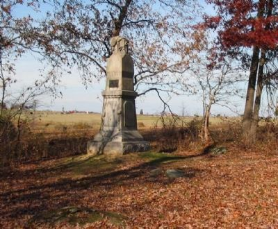 140th Pennsylvania Infantry Monument image. Click for full size.