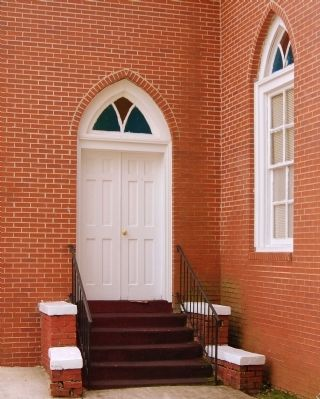 Simmon Ridge Missionary Baptist<br>Church - North Tower Entrance image. Click for full size.