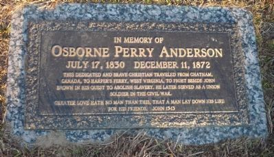 Oxborne Perry Anderson grave marker image. Click for full size.