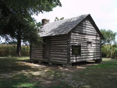Civil War Era Cabin image. Click for full size.