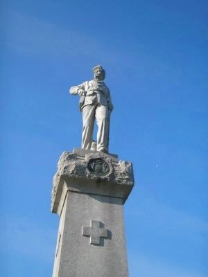 Closeup of 14th New Jersey Infantry Regiment Monument image. Click for full size.