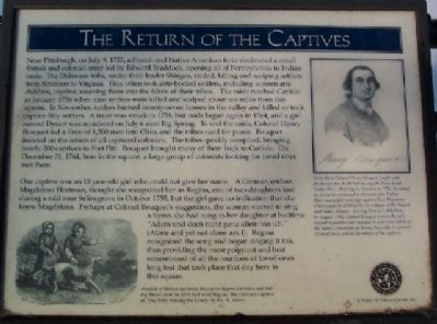 The Return of the Captives Marker image. Click for full size.