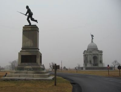First Minnesota Volunteers Monument image. Click for full size.