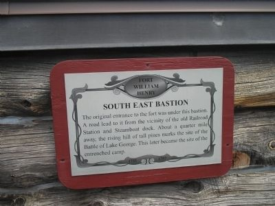 Southeast Bastion Marker image. Click for full size.