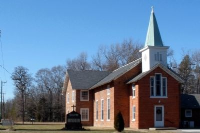 Salem Presbyterian Church. image. Click for full size.