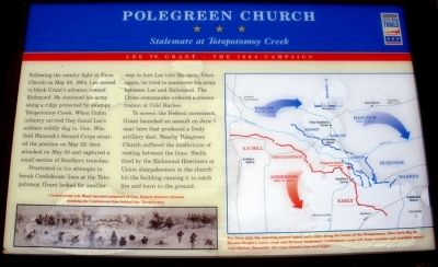 Polegreen Church Marker image. Click for full size.