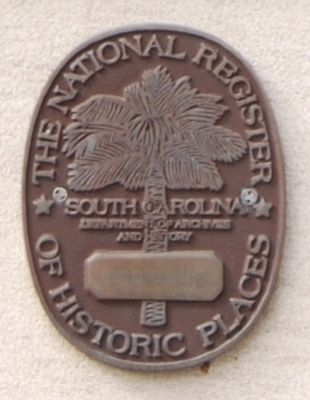National Register of Historic Places Medallion image. Click for full size.