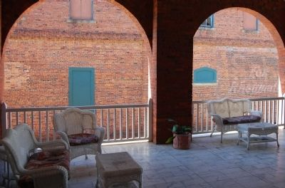 Belmont Inn - Front Porch Arches image. Click for full size.