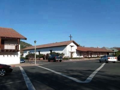 Mission San Francisco Solano Sacred Ground Markers image. Click for full size.