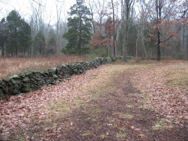 New Jersey Brigade's Stone Wall image. Click for full size.
