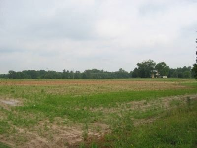 Facing west towards the Confederate position near Hundley's Corner image. Click for full size.