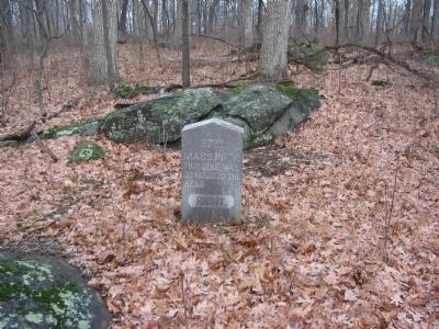 Right Flank Marker for the 37th Massachusetts image. Click for full size.