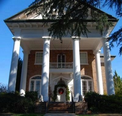 Gassaway Mansion -<br>Front (West) Side image. Click for full size.