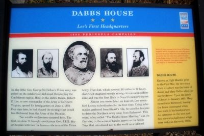 Old Dabbs House CWT Marker image. Click for full size.