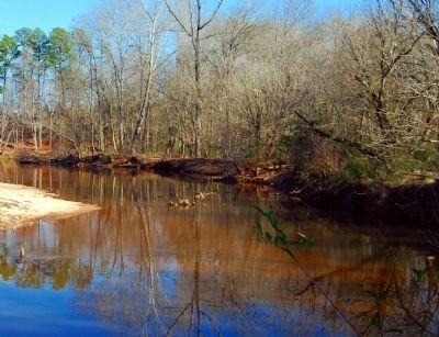 Reedy River -<br>Looking South image. Click for full size.